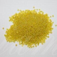bis0170-08/0 2.8 - 3.2 mm, apvali forma, skaidri, geltona spalva, ab danga, apie 50 g.