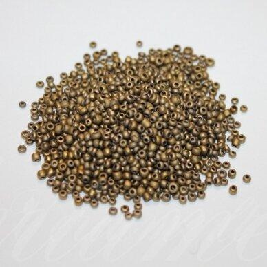 bis0912-08/0 2.8 - 3.2 mm, apvali forma, bronzinė spalva, apie 50 g.
