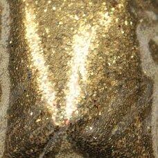 bp0021, auksinė spalva, blizgios dulkės, apie 13 g.