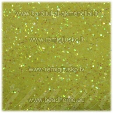 bp0007, geltona spalva, blizgios dulkės, apie 13 g.