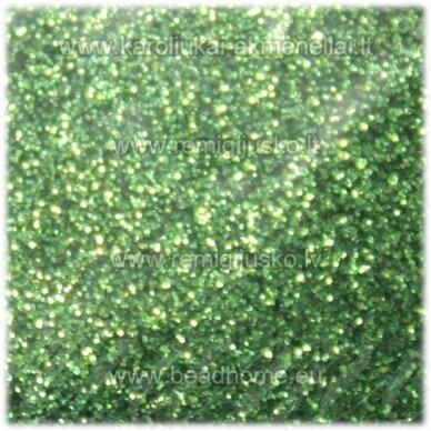 bp0012 šviesi, žalia spalva, blizgios dulkės,apie 13 g.