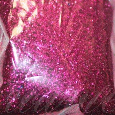 BP0023bordinė spalva, blizgios dulkės,apie 13 g.