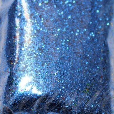 bp0024 tamsi, mėlyna spalva, blizgios dulkės,apie 13 g.