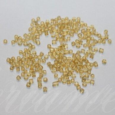 CPCCB10020 apie 1.5 x 2 mm, skaidrus, geltona spalva, blizgūs, charlotte, 20 g