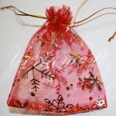 dm0058 apie 110 x 90 mm, raudona spalva, dovanų maišelis, 1 vnt.