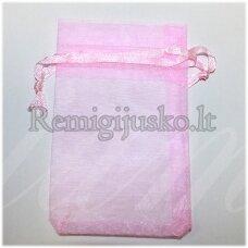 DM0118 apie 90 x 70 mm, rožinė spalva, dovanų maišelis, 1 vnt.