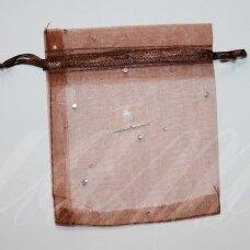 DM0123 apie 120 x 100 mm, ruda spalva, dovanų maišelis, 1 vnt.