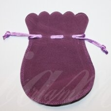 dm0133 about 130 x 105 mm, light, purple color, acsomic gift bag, 1 pc.