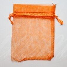 DM0146 apie 70 x 90 mm, oranžinė spalva, dovanų maišelis, 1 vnt.