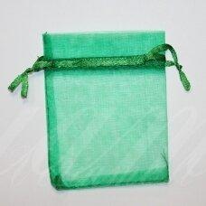 DM0150 apie 70 x 90 mm, žalia spalva, dovanų maišelis, 1 vnt.