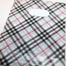 DM0168 apie 200 x 150 mm, marga spalva, dovanų maišelis, apie 10 vnt