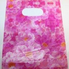 DM0169 apie 200 x 150 mm, margas, rožinė spalva, dovanų maišelis, apie 10 vnt
