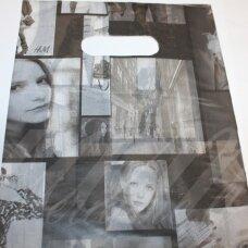 dm0178 apie 280 x 200 mm, marga spalva, dovanų maišelis, apie 100 vnt