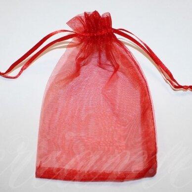dm0110 apie 230 x 170 mm, raudona spalva, dovanų maišelis, 1 vnt.