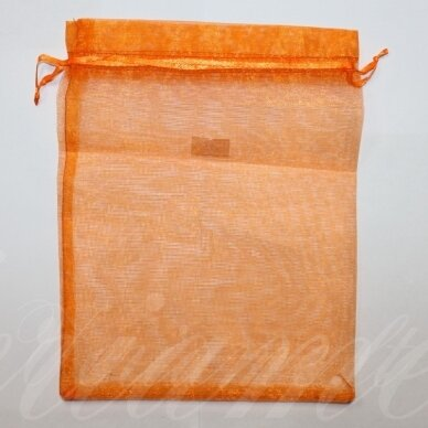 dm0115 apie 230 x 170 mm, oranžinė spalva, dovanų maišelis, 1 vnt.