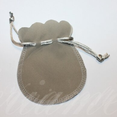 dm0140 about 100 x 80 mm, light, grey color, acsomic gift bag, 1 pc.