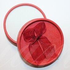 dz0018 apie 36 x 84 mm, raudona spalva, dovanų dėžutė, 1 vnt.