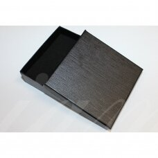 dz0038-kvad-90x90x25 about 90 x 90 x 25 mm, square shape, black color, gift box, 1 pc.