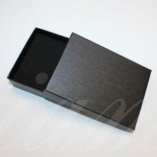 dz0038-stat-110x80x30 apie 110 x 80 x 30 mm, stačiakampio forma, juoda spalva, dovanų dėžutė, 1 vnt.