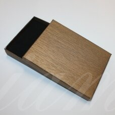 dz0040-stat-160x120x30 about 160 x 120 x 30 mm, rectangle shape, light, brown color, gift box, 1 pc.
