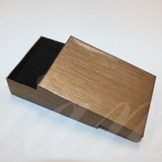 dz0040-stat-110x80x30 about 110 x 80 x 30 mm, rectangle shape, light, brown color, gift box, 1 pc.