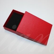 dz0042-stat-110x80x30 about 110 x 80 x 30 mm, rectangle shape, red color, gift box, 1 pc.