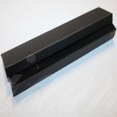 DZ0046-STAT-210x40x20 apie 210 x 40 x 20 mm, stačiakampio forma, juoda spalva, dovanų dėžutė, 1 vnt.