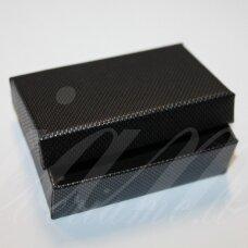 DZ0051-STAT-80x50x25 apie 80 x 50 x 25 mm, stačiakampio forma, hematito spalva, dovanų dėžutė, 1 vnt.