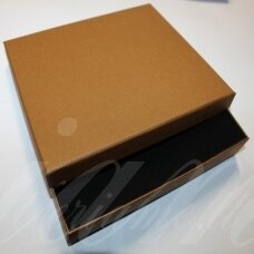 dz0052-stat-190x160x30 about 190 x 160 x 30 mm, rectangle shape, light, brown color, gift box, 1 pc.