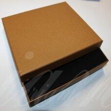 dz0052-stat-190x160x30 apie 190 x 160 x 30 mm, stačiakampio forma, šviesi, ruda spalva, dovanų dėžutė, 1 vnt.