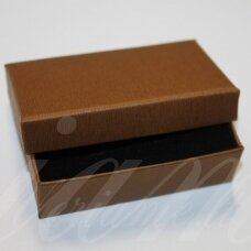 dz0052-stat-80x50x25 about 80 x 50 x 25 mm, rectangle shape, light, brown color, gift box, 1 pc.