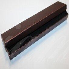 DZ0053-STAT-210x40x20 apie 210 x 40 x 20 mm, stačiakampio forma, bordo spalva, dovanų dėžutė, 1 vnt.
