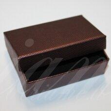DZ0053-STAT-80x50x25 apie 80 x 50 x 25 mm, stačiakampio forma, bordinė spalva, dovanų dėžutė, 1 vnt.