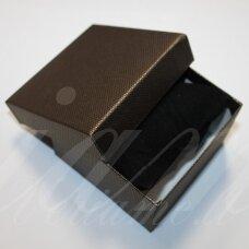 DZ0054-KVAD-90x90x55 apie 90 x 90 x 55 mm, kvadrato forma, bronzinė spalva, dovanų dėžutė, 1 vnt.