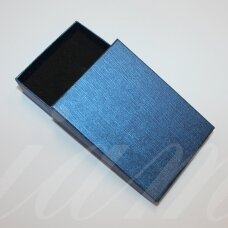 dz0055-stat-110x80x30 about 110 x 80 x 30 mm, rectangle shape, blue color, gift box, 1 pc.
