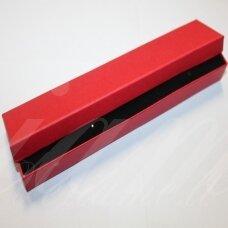 DZ0056-STAT-210x40x20 apie 210 x 40 x 20 mm, stačiakampio forma, raudona spalva, dovanų dėžutė, 1 vnt.