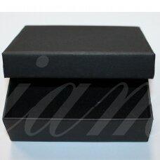 DZ0067-STAT-90x70x30 apie 90 x 70 x 30 mm, stačiakampio forma, juoda spalva, dovanų dėžutė, 1 vnt.