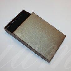dz0104-stat-160x120x30 apie 160 x 120 x 30 mm, stačiakampio forma, tamsi, ruda spalva, dovanų dėžutė, 1 vnt.
