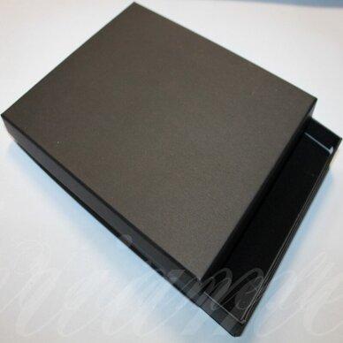 dz0038-stat-190x160x30 apie 190 x 160 x 30 mm, stačiakampio forma, juoda spalva, dovanų dėžutė, 1 vnt.