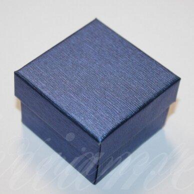 dz0055-kvad-50x50x35 apie 50 x 50 x 35 mm, kvadrato forma, mėlyna spalva, dovanų dėžutė, 1 vnt.