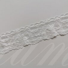 elgip006-1 about 50 mm span, champagne color, elastic guipure strip, 1 m.