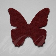 fd0001-drug-32x32 about 32 x 32 mm, butterfly shape, burgundy color, key accessories, 1 pc.