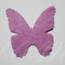 fd0004-drug-32x32 about 32 x 32 mm, butterfly shape, lilac color, key accessories, 1 pc.