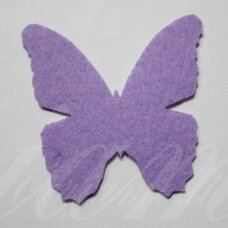 fd0005-drug-32x32 about 32 x 32 mm, butterfly shape, light, purple color, key accessories, 1 pc.