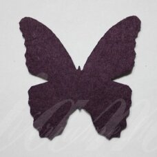 fd0006-drug-32x32 about 32 x 32 mm, butterfly shape, dark, purple color, key accessories, 1 pc.
