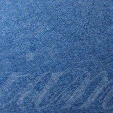 fil0081 apie 330 x 420 x 1 mm, mėlyna spalva, filcas, 1 vnt.