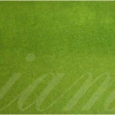 fil0141 apie 330 x 420 x 1 mm, šviesi, žalia spalva, filcas, 1 vnt.