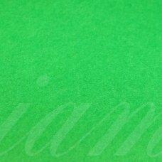 fil0150 apie 330 x 420 x 1 mm, žalia spalva, filcas, 1 vnt.