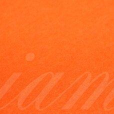 fil0159 about 330 x 420 x 1 mm, orange color, felt, 1 pc.