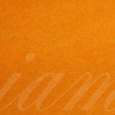 fil0161 about 330 x 420 x 1 mm, dark, orange color, felt, 1 pc.